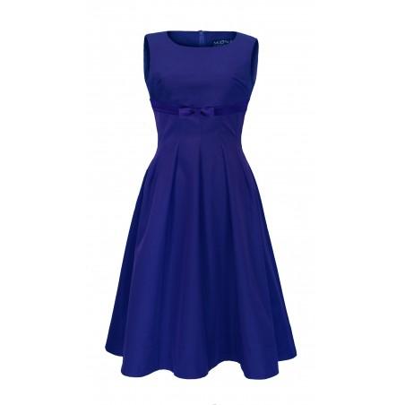 Rozkloszowana odcięta pod biustem wyszczuplajaca sukienka CAMILL 220 5