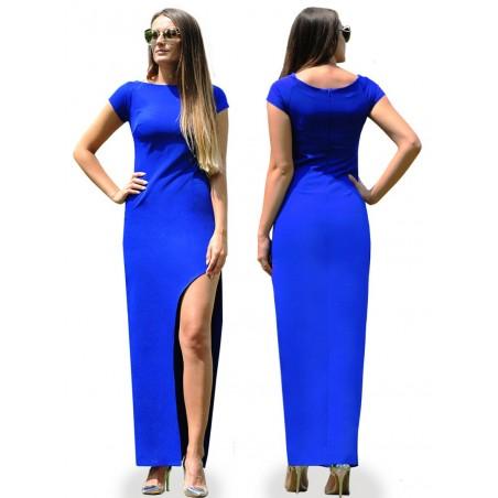 Elegancka asymetryczna suknia CAMILL 308 9