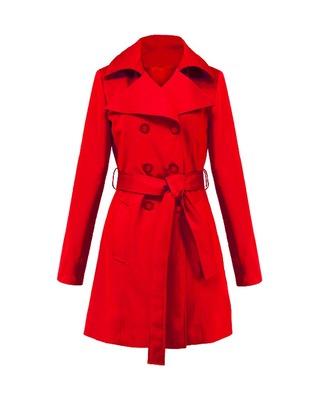 Klasyczny trencz ,płaszcz na wiosnę ,jesień CAMILL 001 6
