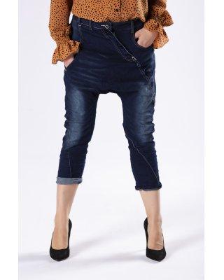 jeansowe spodnie z...
