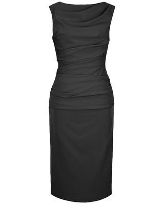 Wąska elegancka wyszczuplająca sukienka CAMILL 147 MIDI 6