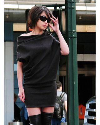 Sukienka z kimonowym rękawem Camill 313 1