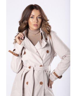 klasyczny płaszcz z...