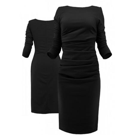 Wyszczuplająca wąska sukienka z rękawem CAMILL 178 2