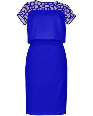 Nowoczesna ołówkowa sukienka z żakiecikiem CAMILL 229 6