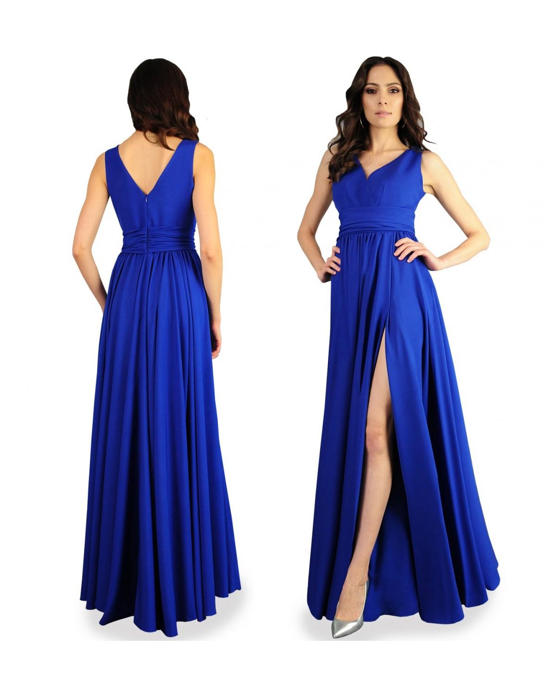 Długa wieczorowa suknia CAMILL 193A 1