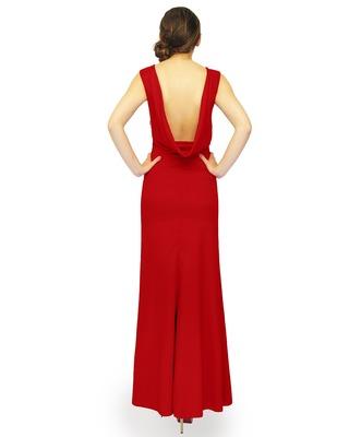 Długa elegancka suknia,odsłania plecy CAMILL 028 2