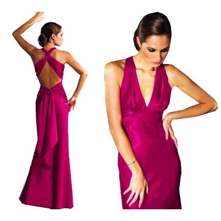 Długa ,elegancka sukienka CAMILL 081 1