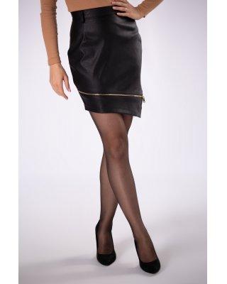 asymetryczna spódnica mini...