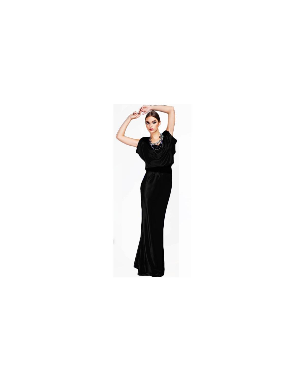 Długa oversizowa suknia wieczorowa CAMILL 122