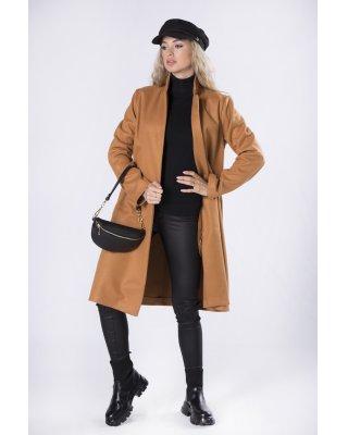elegancki płaszcz bez...