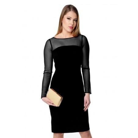 Elegancka ołówkowa sukienka...