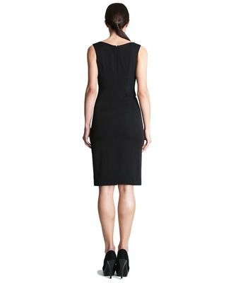 Ołówkowa sukienka z kopertowym dekoltem CAMILL 242 4