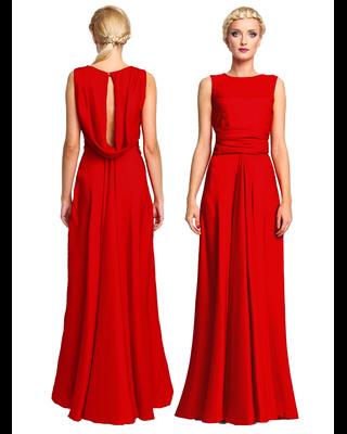 Czerwona piękna długa...