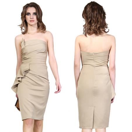 Ołówkowa sukienka...