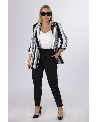 eleganckie spodnie z talią...