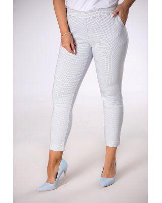 spodnie z printem multikolor