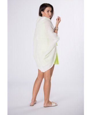 sweter oversize kremowy