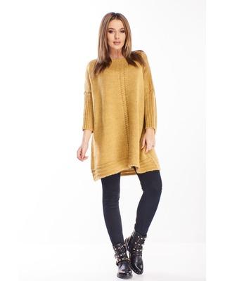 oversize'owy sweter z...