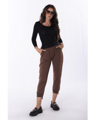dresowe spodnie ze...