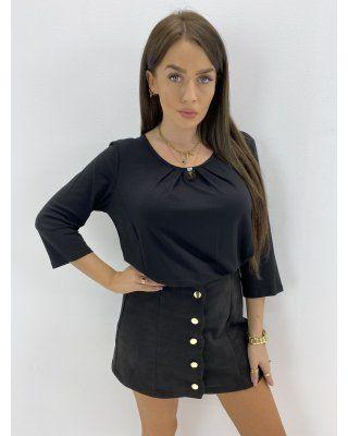 klasyczna bluzka czarny