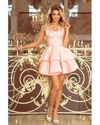 Sukienka z haftowaną górą...