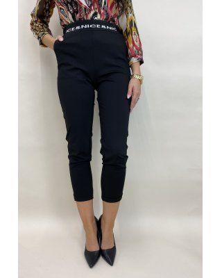 casualowe spodnie czarny