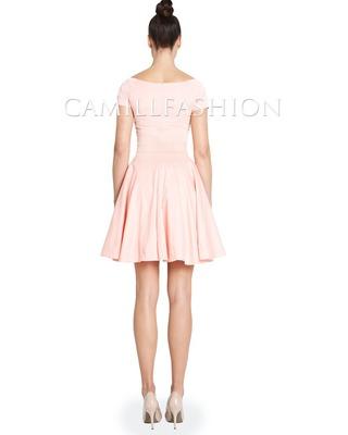 Sukienka z rękawem na każdą okazję CAMILL 265A 6