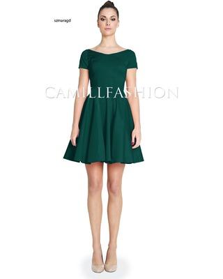 Sukienka z rękawem na każdą okazję CAMILL 265A 13