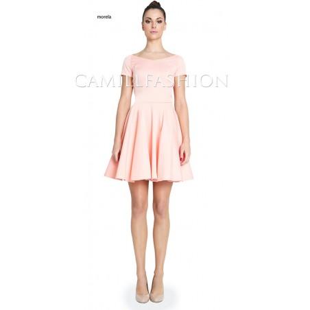 Sukienka z rękawem na każdą okazję CAMILL 265A 7