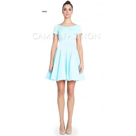 Sukienka z rękawem na każdą okazję CAMILL 265A