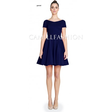 Sukienka z rękawem na każdą okazję CAMILL 265A 11